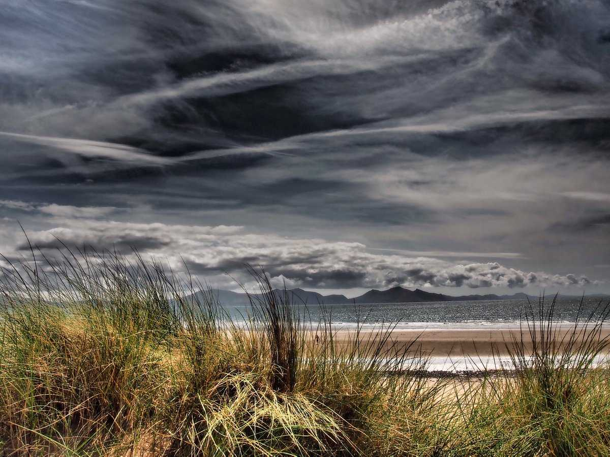 Moody skies over Anglesey during blip to the great weather
